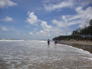 Udaipur beach, West Bengal, India