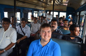 Learn from my French friend here who's taking the bus during his trip to Kolkata