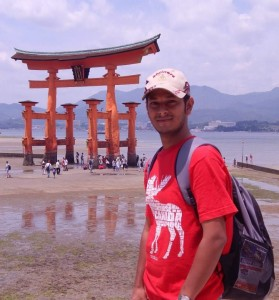 That's me at Miyajima, Japan