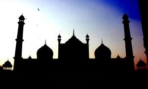 Jama Masjid in Delhi. Picture by Samarpita Banerjee