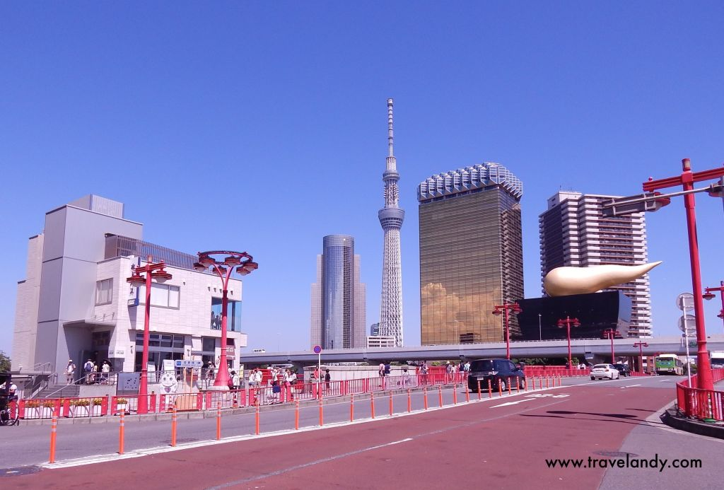 Asakusa. You can see Tokyo Skytree in the background