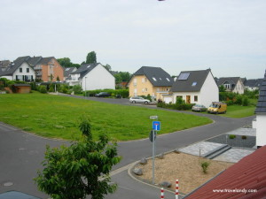I stayed at the house of a friend in this German village called Bornheim