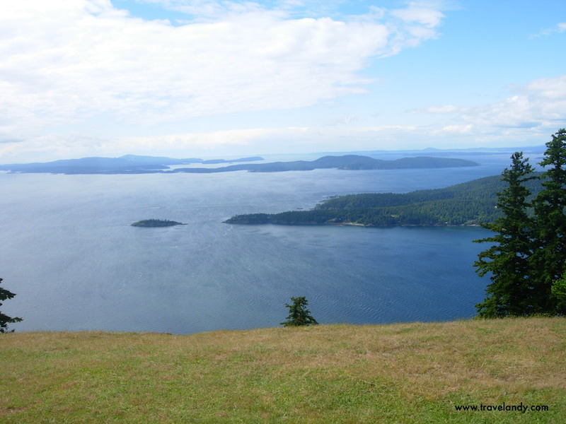 This is the highest point in Saturna Island. You could consider getting married here :)