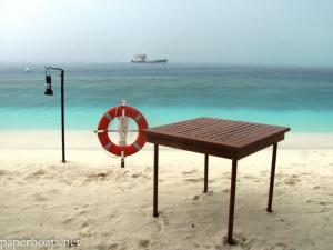 Beach at Vadhoo resort