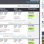 How I dug out cheap air tickets
