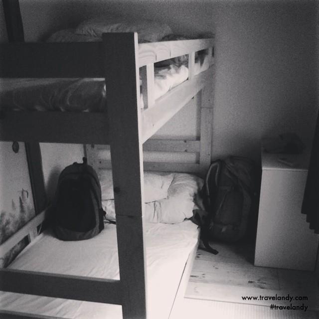 My Osaka hostel bunk