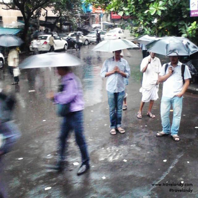 Rainy afternoon in Kolkata