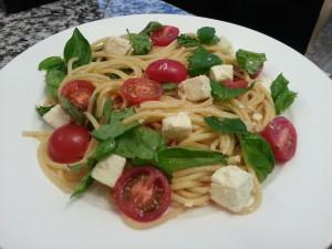 vegetarian food pasta