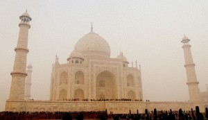 The Taj Mahal is among the most visited places by tourists, both domestic and international. Picture by Atreyee Kar.