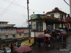 The iconic Keventer's restaurant in Darjeeling