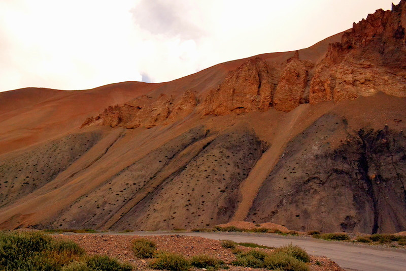 Effects of wind erosion. Picture by Swagata Basu