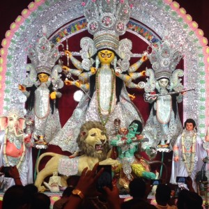 The Durga Puja at Bagbazar (TravelAndy)