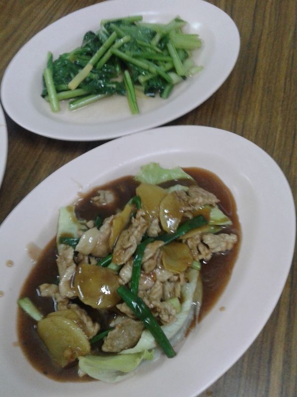 Food at the family-run Loke Tien Yuen Restaurant is really delicious