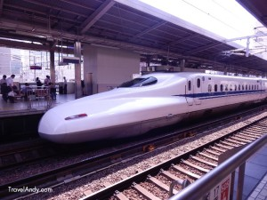 Bullet train, or Shinkanshen, as it is known in Japan
