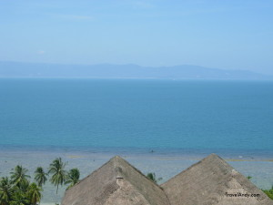 View from Koh Phangan, an idyllic but touristy island in the Gulf of Thailand