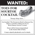 Sourtoe Cocktail Club seeks donation of toes