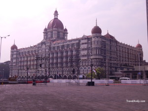 The iconic Taj Mahal Palace Hotel in Mumbai, the capital of India's Maharashtra state