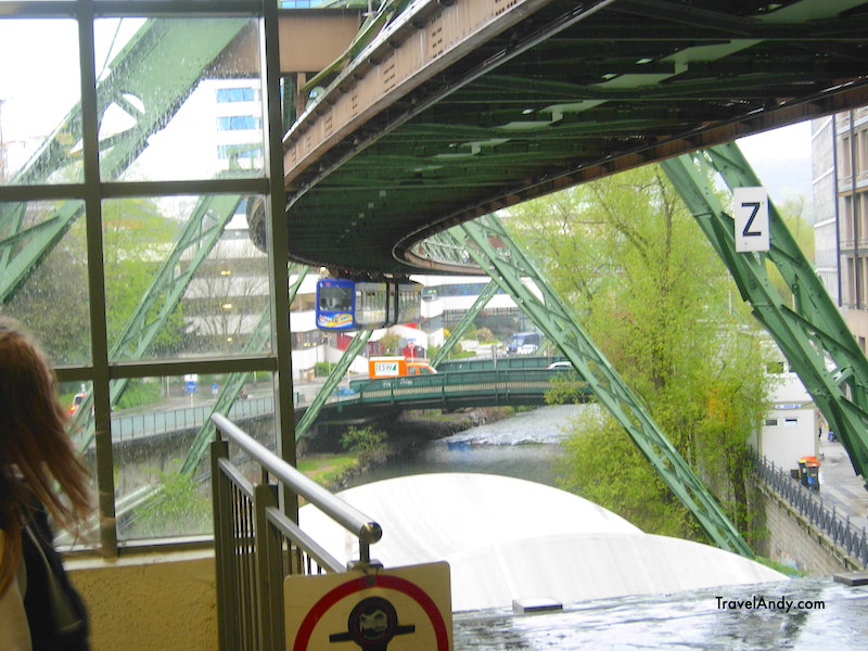The first time I saw the Schwebebahn