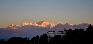 Mt Kanchendzonga, which falls within the national park, Picture by Swagata Basu.