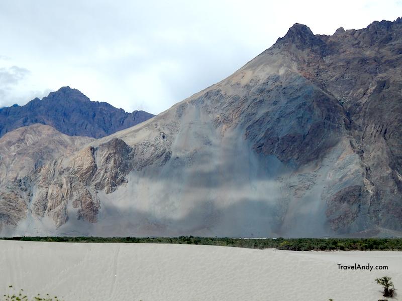 Cloud shadows on the Karakoram range