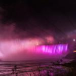 New LED illumination at Niagara Falls