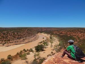 Me at Kalbarri National Park, Western Australia