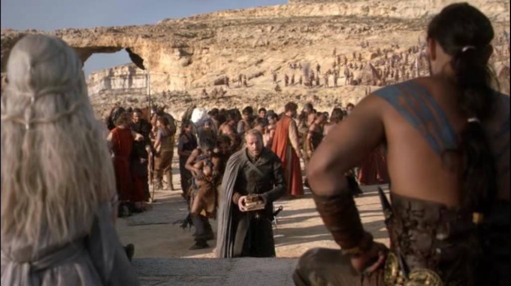 The Azure Window as seen on Game of Thrones Season 1