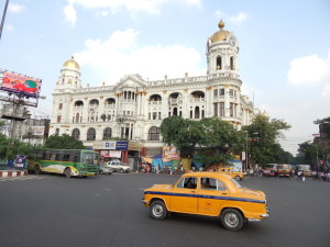 Esplanade in central Kolkata