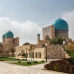 Crossroads of cultures at Shakhrisabz in Uzbekistan