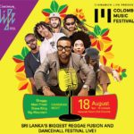 Reggae and dancehall music fest in Colombo