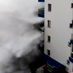 6-metre waves crash into buildings in Canary Islands