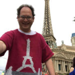 'The Sweater Guy' knits sweaters of holiday spots, takes selfies