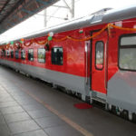 New Mumbai-Delhi Rajdhani Express hits tracks