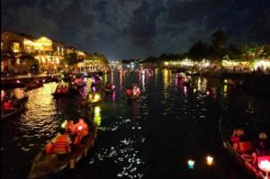 Lantern festival at Hoi An Vietnam