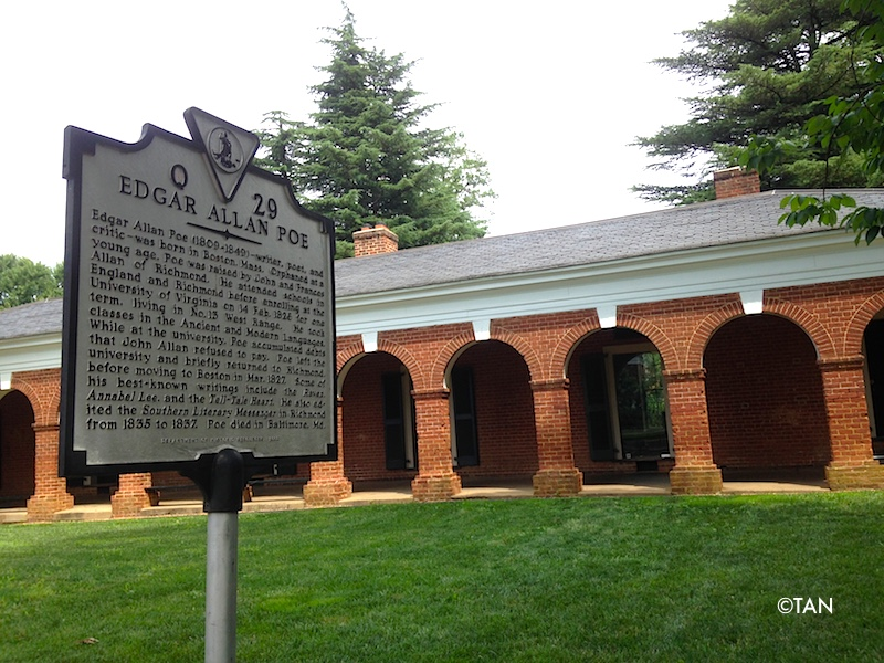 Edgar Allan Poe's residence