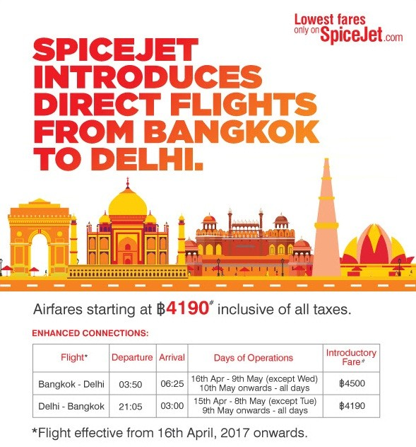 SpiceJet to fly Delhi-Bangkok direct | TravelAndy